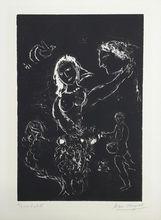 马克•夏加尔 - 版画 - White on black