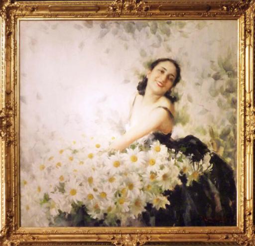 Francesco LONGO MANCINI - Pintura - Fiorisce primavera