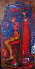 Dilek ÖZMEN - Painting - untitled