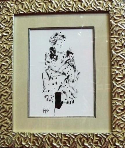 Manolo RUIZ PIPO - Peinture - Elegante III