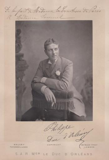Lucien WALÉRY - Fotografie - Philippe - Duc d'Orléans