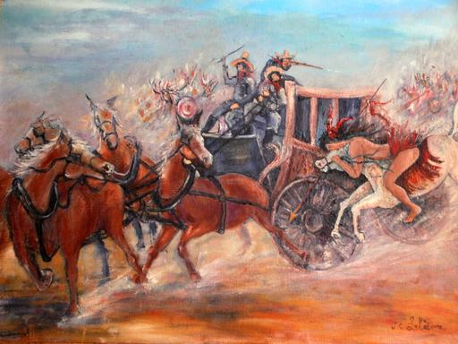 Jean-Claude LELIEVRE - Peinture - autrefois dans l ouest