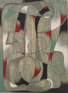 Saül KAMINER - Gemälde - Ancetre
