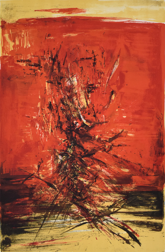 ZAO Wou-Ki - Stampa Multiplo - Untitled 159