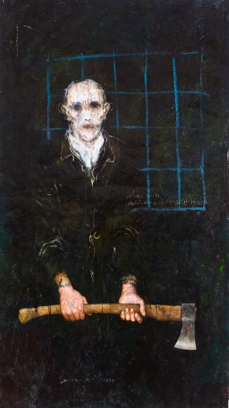 Anton CHRISTIAN - Painting - Schau doch was ich dir mitgebracht habe