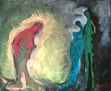Bernard MOREL - Pintura - JE VOUS SALUE