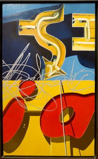 Philippe HUART - Painting - Blue ≠7