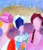 Valerio BETTA - Pintura - Ricordo di Venezia con arlecchino-Venice carnival
