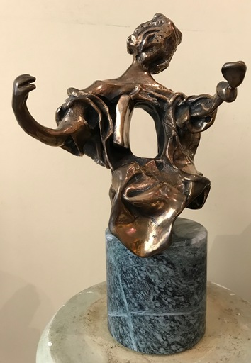 Salvador DALI - Sculpture-Volume - Madonne de Port Lligat