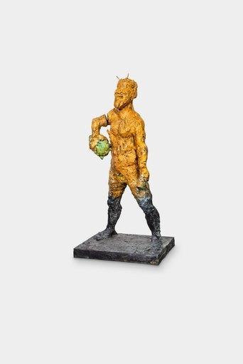 Markus LÜPERTZ - Escultura - Pan