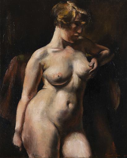Jean FAUTRIER - Pintura - Nu féminim