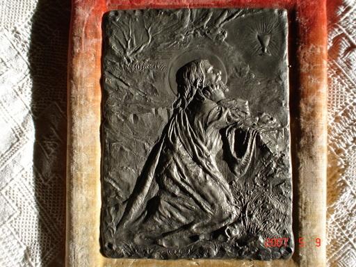 Alexandre VIBERT - Escultura - la prière