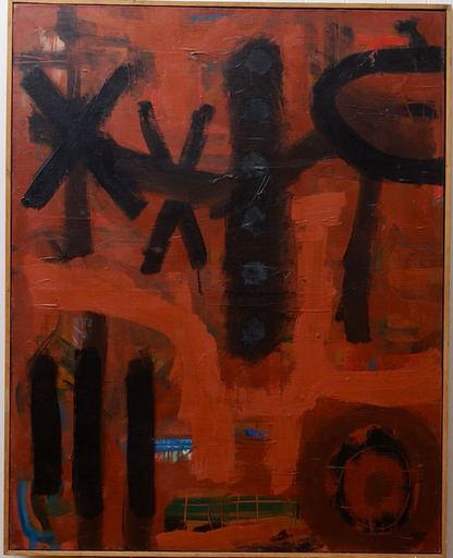 "Guido LLINAS - Painting - ""Signes"""