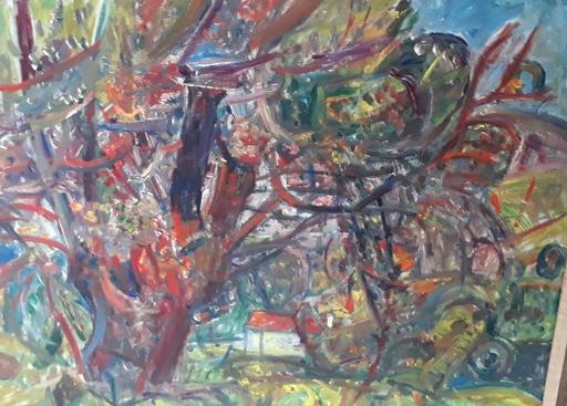 Pinchus KREMEGNE - Pintura - Landscape in France