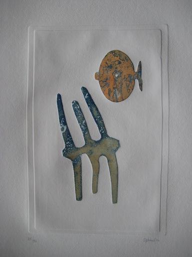 Ferdinand SPRINGER - 版画 - GRAVURE SIGNÉE AU CRAYON NUM/90 HANDSIGNED NUMB/90 ETCHING
