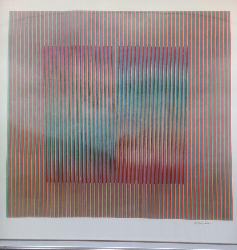 Carlos CRUZ-DIEZ - Estampe-Multiple - color aditivo