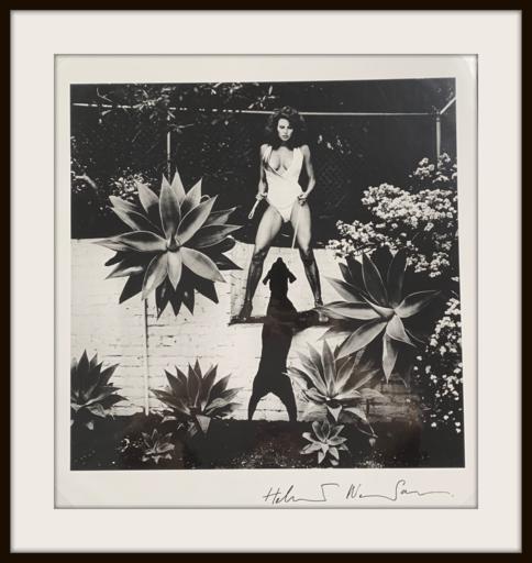 Helmut NEWTON - Photo - Raquel Welch, Beverly Hills 1981