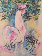 Mariano RODRIGUEZ - Drawing-Watercolor - No Title