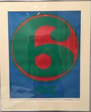 Robert INDIANA - Print-Multiple - Six