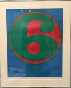 Robert INDIANA - Grabado - Six