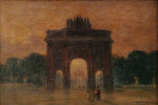 Gabriel Marie BIESSY - Painting - Arc de Triomphe