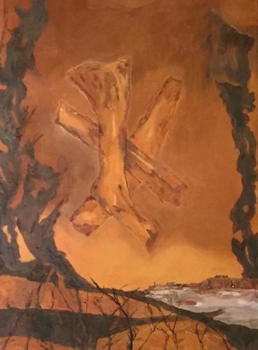 Francis MOREAU - Peinture - Passent les rêveurs