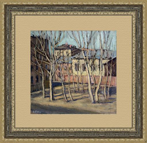 Valeriy NESTEROV - Pintura - Taganka yard. Moscow