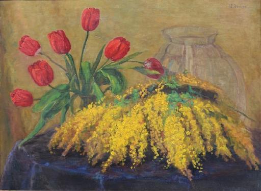 Boris Issakovitch EGIS - Painting - Still-life