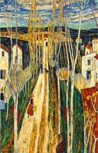 Auguste DUREL - Painting - Chemin en Provence (N°63)