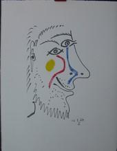 Pablo PICASSO (1881-1973) - Le Gout de Bonheur 16.5.64 V
