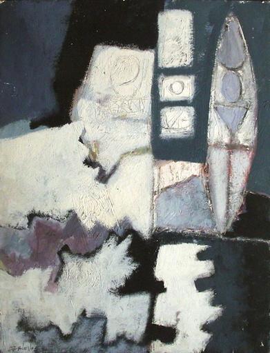 Alain SALEVOR - Painting - Composition