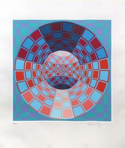 Victor VASARELY - Print-Multiple - Untitled II