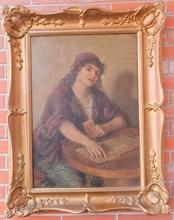 Karoly CSERNA - Pintura - fortune teller