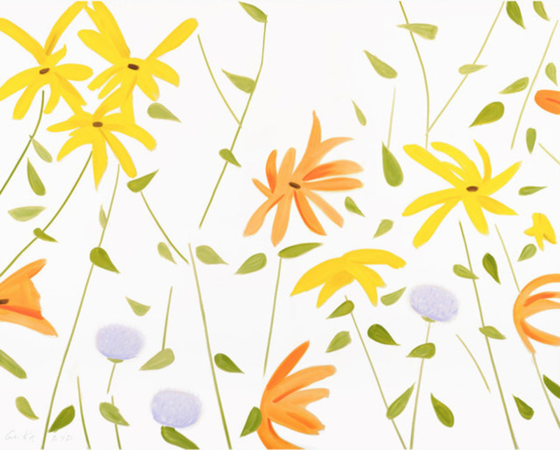Alex KATZ - Print-Multiple - Flowers 2