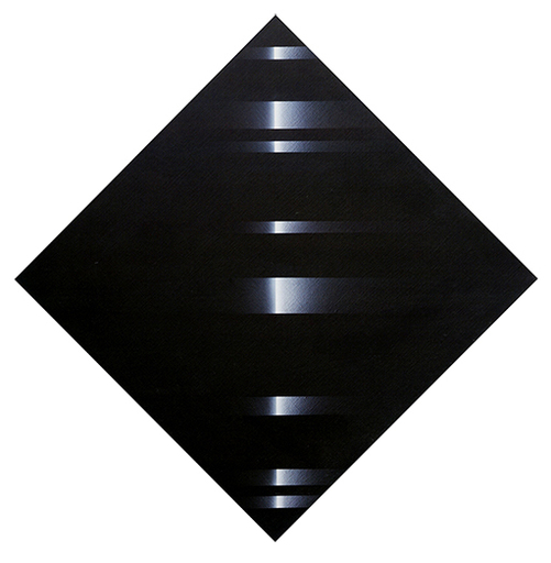 Ennio FINZI - Gemälde - Senza titolo