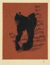 Robert MOTHERWELL (1915-1991) - Music for J.S. Bach