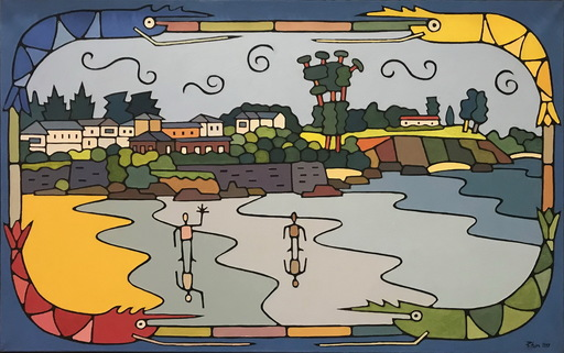 Jorge PETEIRO - Pintura - BASTIAGUEIRO
