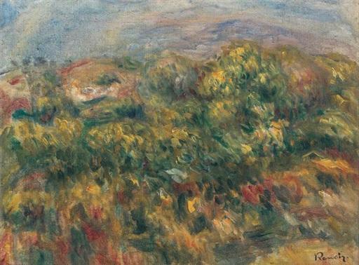 Pierre-Auguste RENOIR - Gemälde - Paysage
