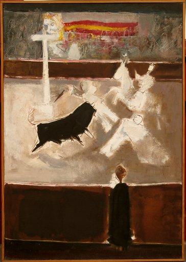"""Antonio URIA MONZON - Pintura - """"EN EL RUEDO"""""""