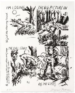Raymond PETTIBON - Print-Multiple - I'm Losing The Big Picture In The Full Story Of My Life