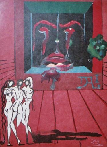 萨尔瓦多·达利 - 版画 - Obsession of The heart