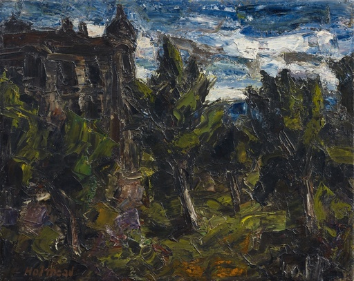Holmead PHILLIPS - Peinture - The Haunted House