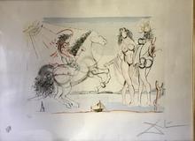萨尔瓦多·达利 - 版画 - Jinetas del apocalipsis