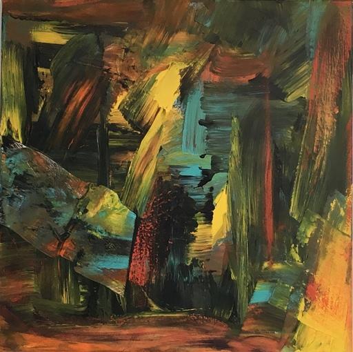 Ursula SCHREGEL - Peinture - Sans Titre