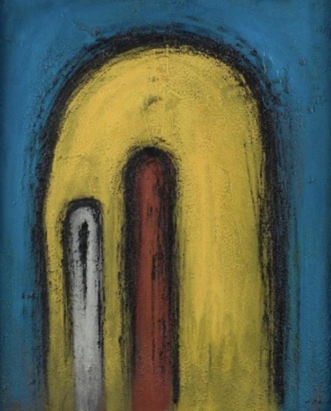 Víctor MIRA - Gemälde - Hiladura