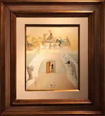 Salvador DALI - Peinture - Triumph of the Toreador (Lillas Pastia's Tavern from Carmen)