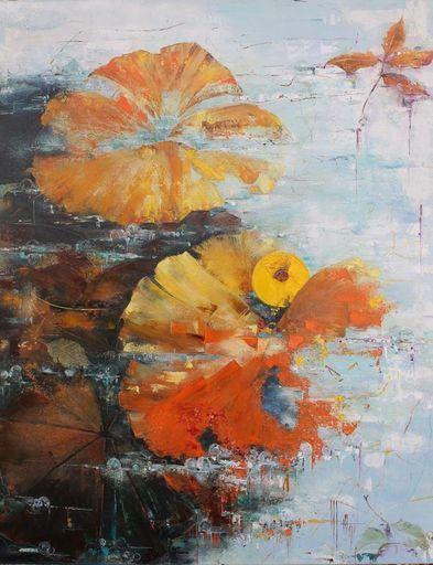 Nadine PILLON - Painting - Et puis l automne