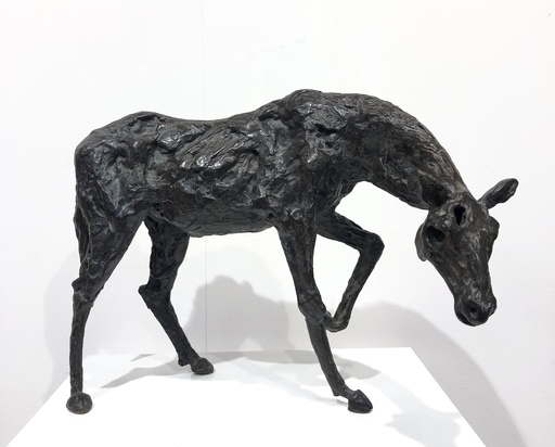 Pierre MOUZAT - Escultura - Rossinante