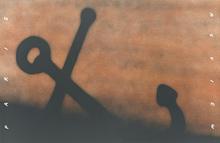 爱德华•鲁沙 - 版画 - Anchor in Sand