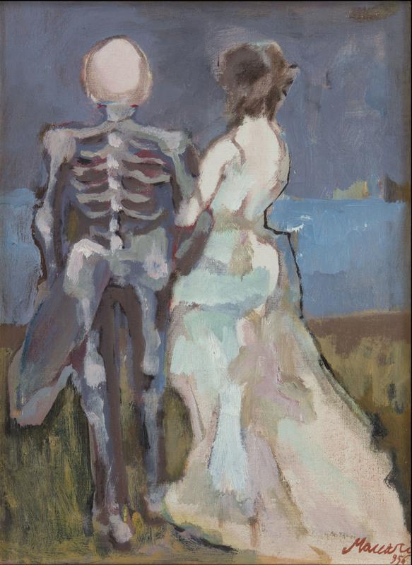 Mino MACCARI - Painting - Sitia